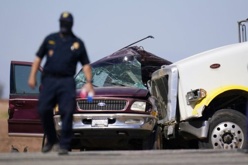 Charges filed in deadly crash of SUV packed with 25 people in California, feds say