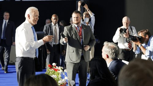 Biden gets heated during post-Putin press conference