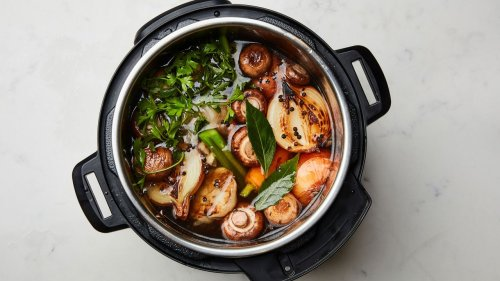 A Recipe Calls for Vegetable Broth. Can I Just Use Water?