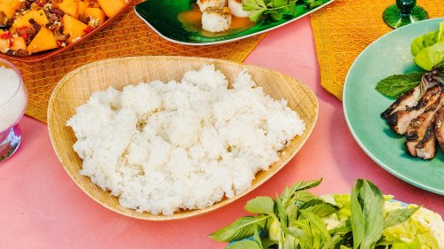 How to Make Sticky Rice, Thai Style