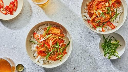 Buttery Kimchi Chicken