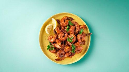 Paprika Shrimp with Buttery V8® Sauce