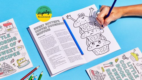 The Little Coloring Book of Sweet Recipes Lets You Bake LA's Finest Pastries—and Color Them Too