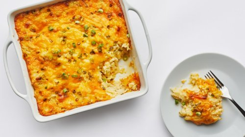 This Cheesy Potato Casserole Is Literal Decadence