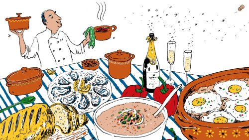 José Andrés Would Serve Oysters, Gazpacho, and Fried Eggs at His Dream Dinner Party