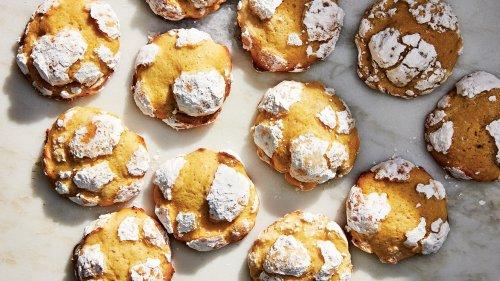 Lavender-Lemon Crinkle Cookies