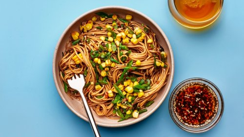 Cold Noodles With Sichuan Peppercorn Dressing