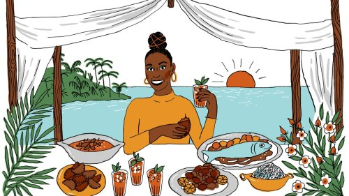Issa Rae's Dream Dinner Party Is a Beachside Senegalese Feast