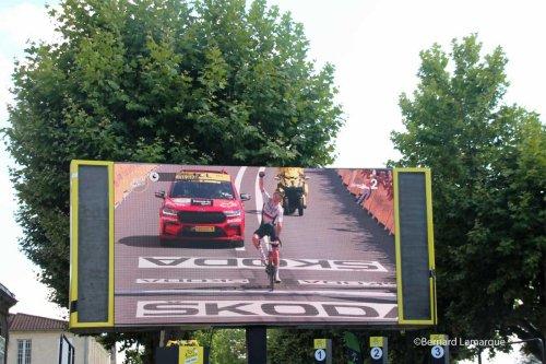 La Gironde offre un superbe accueil au Tour de France