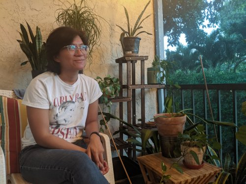 Thanks to lessons learned in a family of nurses, 2nd generation Filipina builds a career in art