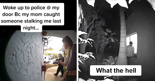 Woman Catches A Creepy Stalker Watching Her Sleep With Her Ring Camera