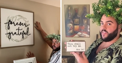 """Guy Shows His """"Basic White Sister's"""" House In Hilarious TikTok Videos, And The Amount Of """"Live Laugh Love"""" Signs Is Ridiculous"""
