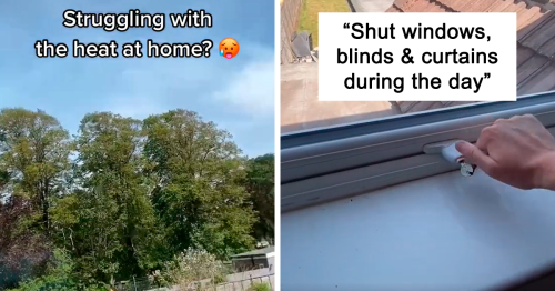 Property Expert Shares Tips On How To Keep Your House Cool During A Heatwave
