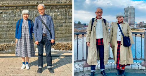 This Couple Married For 41 Years Always Dress In Matching Outfits (100 New Pics)