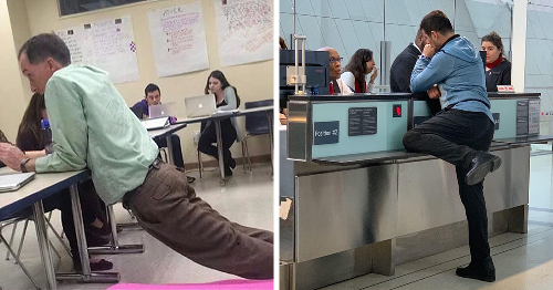 42 Times People Were Caught Standing Weirdly In Public As Shared On This Instagram Page