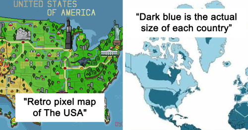 30 Unusual Maps People Shared On This Group That Might Change Your Perspective On Things (New Pics)