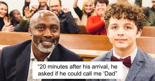 Single Man Adopts 13-Year-Old Boy After His Adoptive Parents Abandoned Him In A Hospital