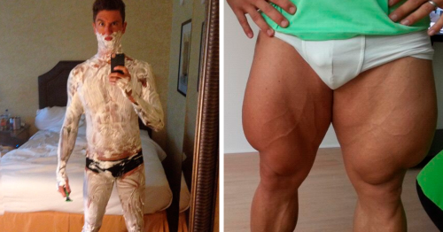 56 Freaky Photos Of Olympians And Other Athletes To Give You A New Perspective On The Human Body