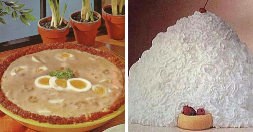 30 Vintage Recipes That Are So Questionable, It's Hard To Imagine What The Dishes Should Taste Like