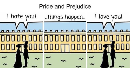 Artist Pokes Fun At Literature Classics In 30 Cartoons
