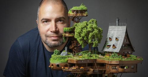 Photographer Created A Miniature Utopia