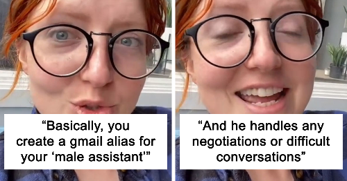 Female Entrepreneur Shares How She Created A Fake Male Assistant To Deal With Difficult Customers