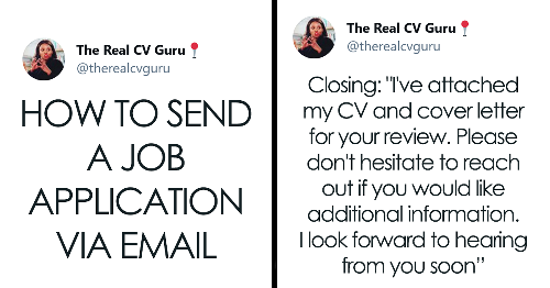 People Are Loving This Thread Explaining How To Send Job Applications Via Email