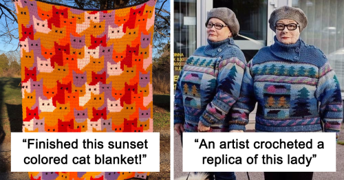 This Online Group Is Dedicated To The Art Of Crocheting, And Here Are 108 Of Their Best Projects