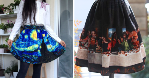 Fine Art Turned Into Clothes Lets You Wear Your Favorite Paintings