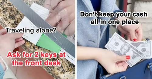 28 Tips And Tricks To Keep You Safe When You're Traveling Alone, Shared By This TikToker
