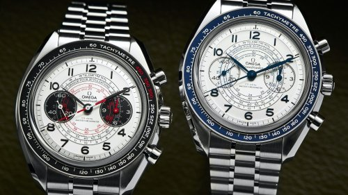 This Omega Speedmaster Chronoscope Is The Stuff Of Collectors Dreams