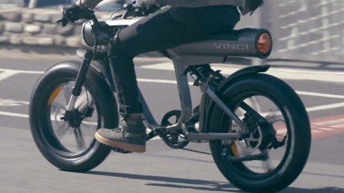 The Vinci E-Bike Gives You Comfort & Sustainability