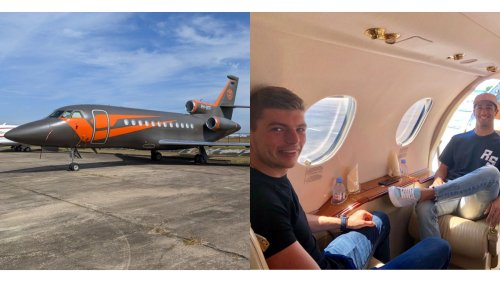Max Verstappen's $15 Million Private Jet Is Proof You Can Have It All At 24