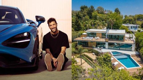 Inside Daniel Ricciardo's Stunning $18.6 Million Beverly Hills Mansion