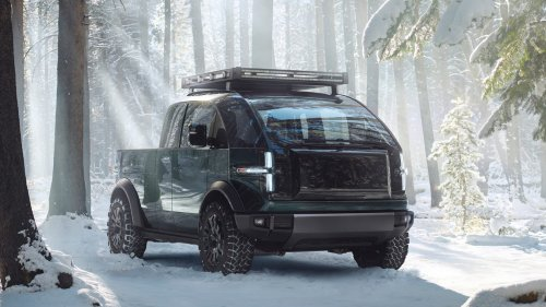 The Canoo Pickup Is What Elon Musk Wishes Tesla's Cybertruck Was
