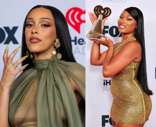 Feeling These Get Ups? Doja Cat, Megan Thee Stallion & More Attend 2021 iHeartRadio Music Awards