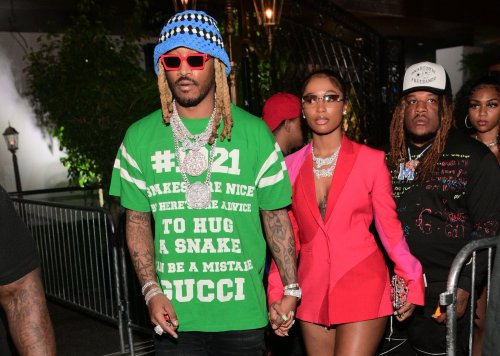 Love On Pluto: Future & Dess Dior Bring Their Codeine Canoodleship To Gunna's Drippy Playa's Room Experience