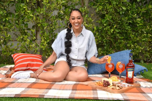 Healthy Girl Summer: Tia Mowry Shares Her Fave Food Pairings & Essential Hosting Tips