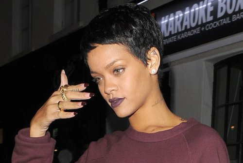 It's The Hair For Me! Rihanna Debuts Pixie Cut During Date Night In The City!
