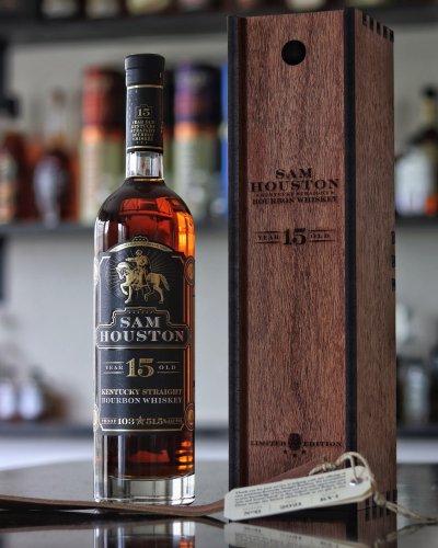 128: Sam Houston's 15 Year Old Kentucky Bourbon Release 6 - Bourbon Lens