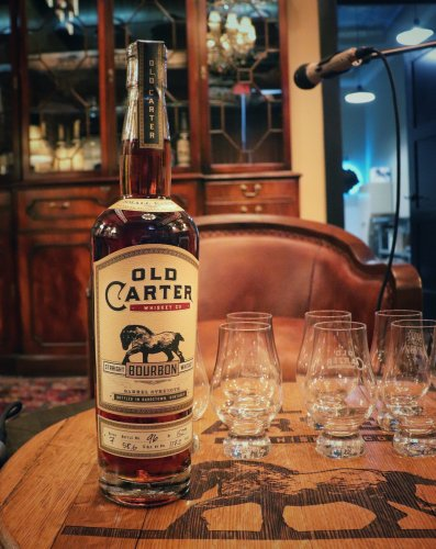 119: Sneak Preview of the Newest Releases from Old Carter Whiskey Company - Bourbon Lens