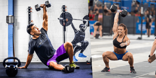 15 Full Body CrossFit Dumbbell Workouts | BOXROX