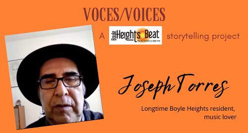 Music has been a lifelong passion for Joseph Torres