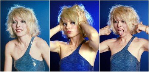 Debbie Harry in Blue Dress, 1979
