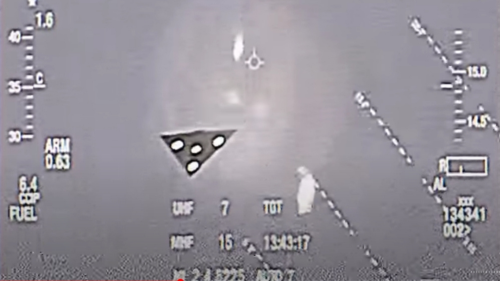 US Air Force Pilot Leaked Damning Evidence of a UFO Not Seen Before