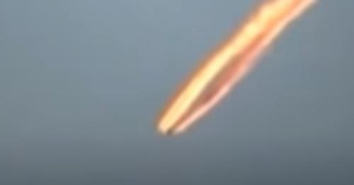 UFO Looks To Me Like It's Crashing Over Peru