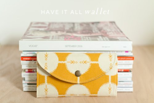 have it all wallet pattern. . .