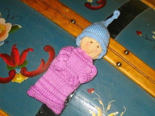 Machine Knit Pocket Doll