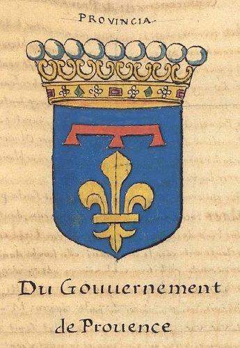 l'Armorial de La Planche - 1669 - Gouvernement de Provence - Sénéchaussée d'Arles