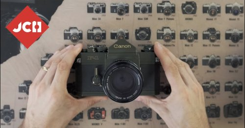Camera Geekery: The Canon F-1